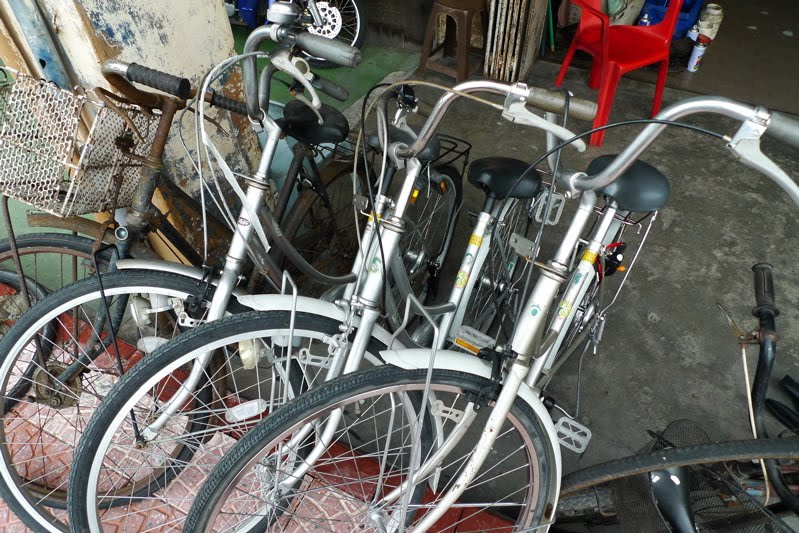 Love the Fold: Mamachari -The perfect CPF (cycle, park & forget) bike