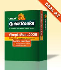 QuickBooks Simple Start Plus Pack 2008