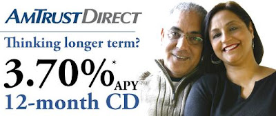 Amtrust - 1 year CD - 3.70% APY
