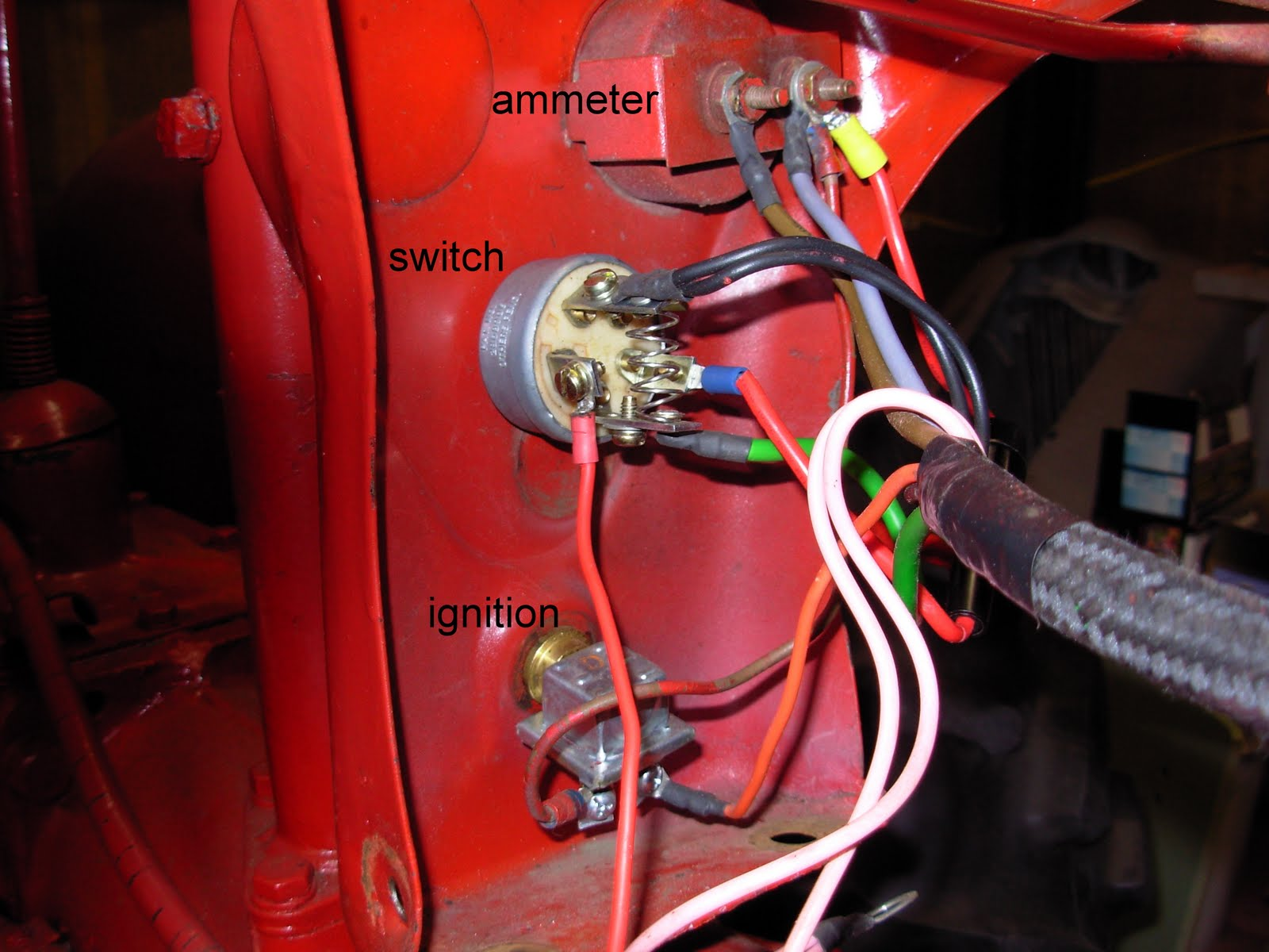 DSCN2043 Farmall Tractor Regulator Wiring Diagram on