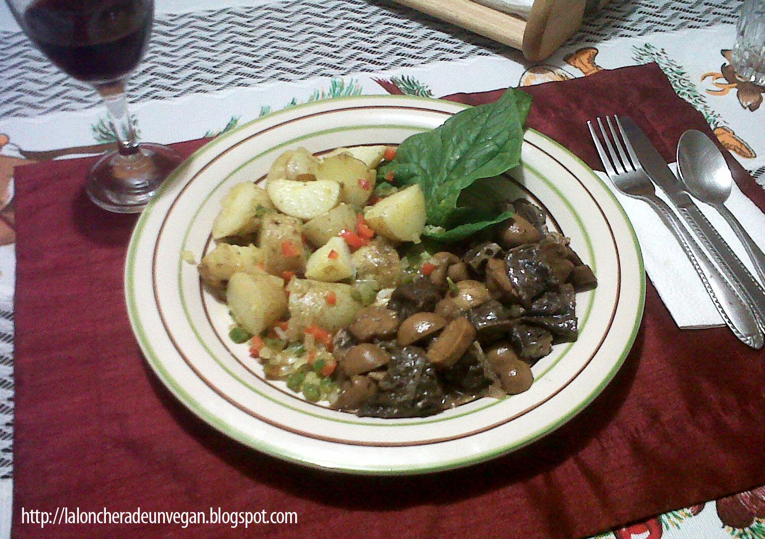 Comida vegana casera y facil de hacer cena de navidad vegana - Comida para navidad facil ...