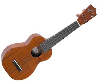 standard ukulele shape