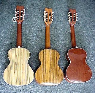 standard ukulele sizes