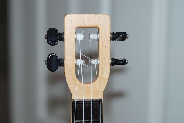 fluke ukulele headstock