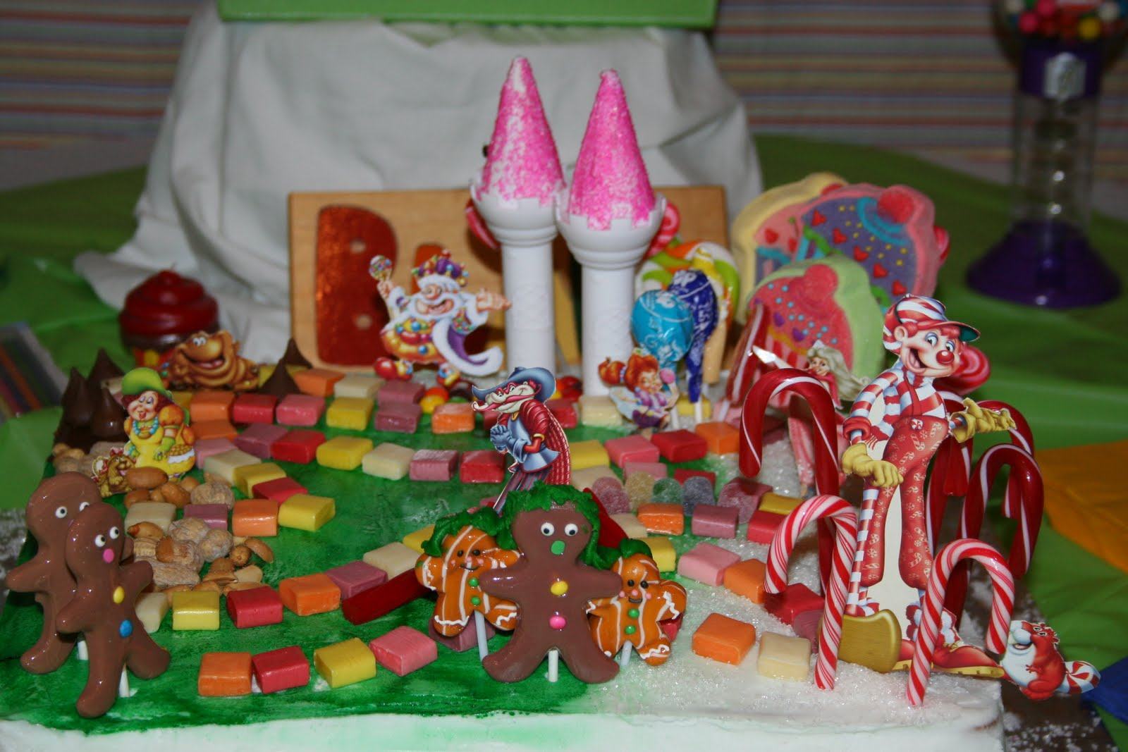 The Dukes Family Candy Land