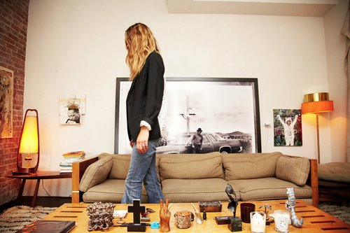 The Design And Style Of Erin Wasson Model Turned Designer S East Village Apartment Is Probably Most Amazing Thing I Ve Seen Since Carrie Bradshaw