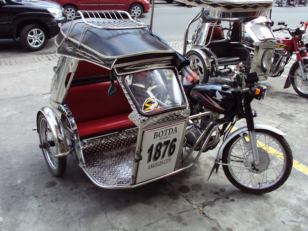 Philippine Sidecar Design Motorcycle - Year of Clean Water
