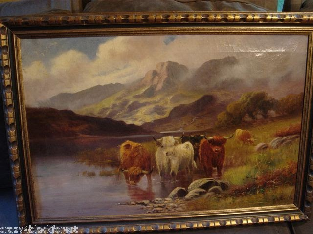 Oil Painting By Francis E Jamieson