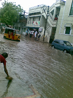 Floods at Old City Hyderabad