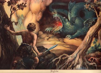Resultado de imagen de cantar de los nibelungos