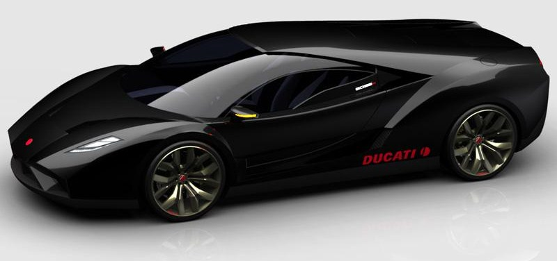 Car Reviews 2012 Ducati 6098 R Concept The First Attempt By