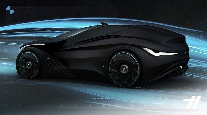 Concept Bmw Tron A Real Hybrid