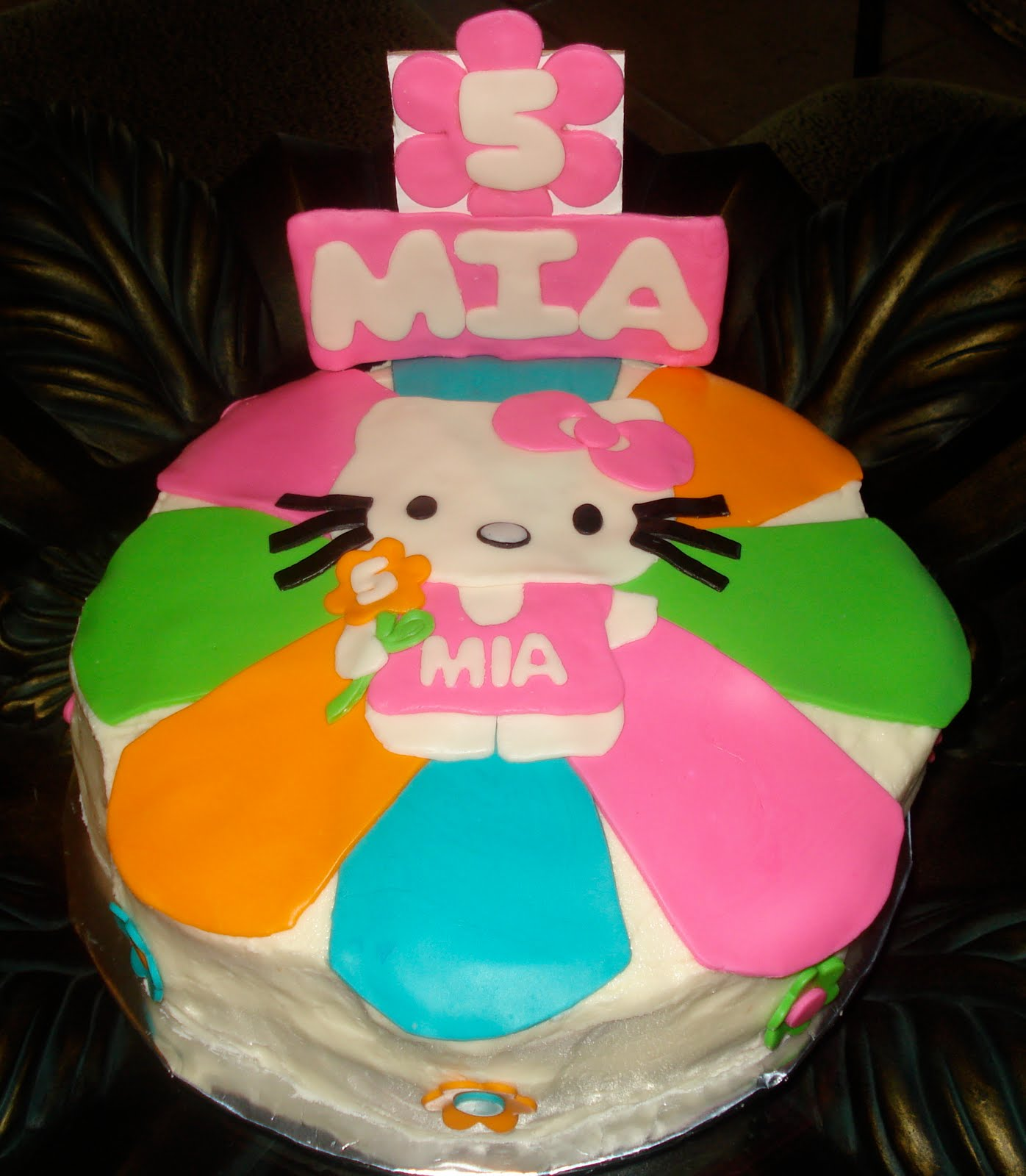 Mad About Cakes Amp More Happy Birthday Mia Strawberry