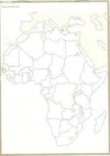 mapa africa nomes paises Professora Jandira: MAPA DA ÁFRICA SEM NOME DOS PAÍSES mapa africa nomes paises