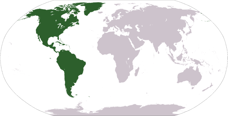Generalidades De Los Continentes: Generalidades De América: CONTINENTE AMERICANO