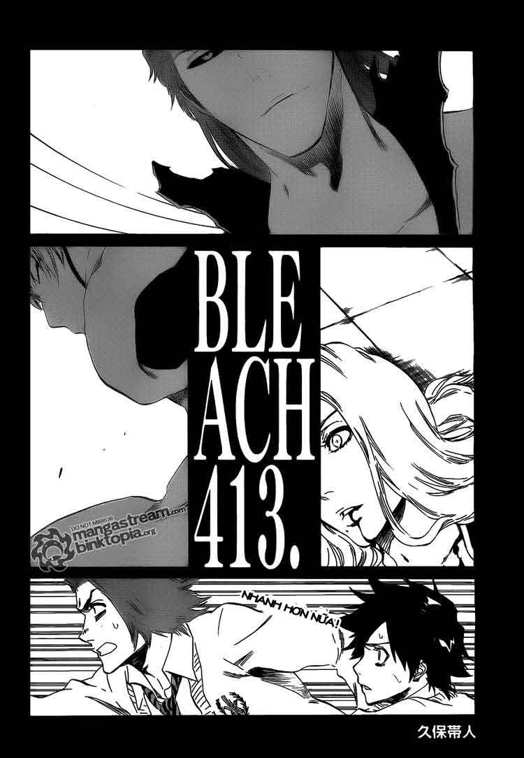 Bleach chapter 413 trang 2