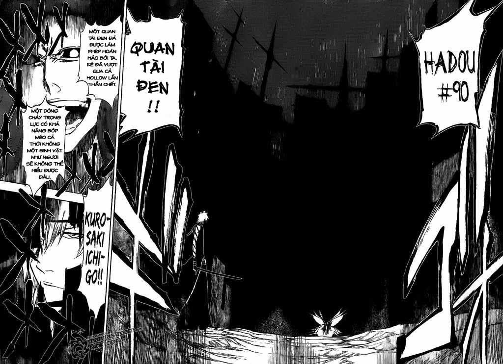 Bleach chapter 418 trang 16