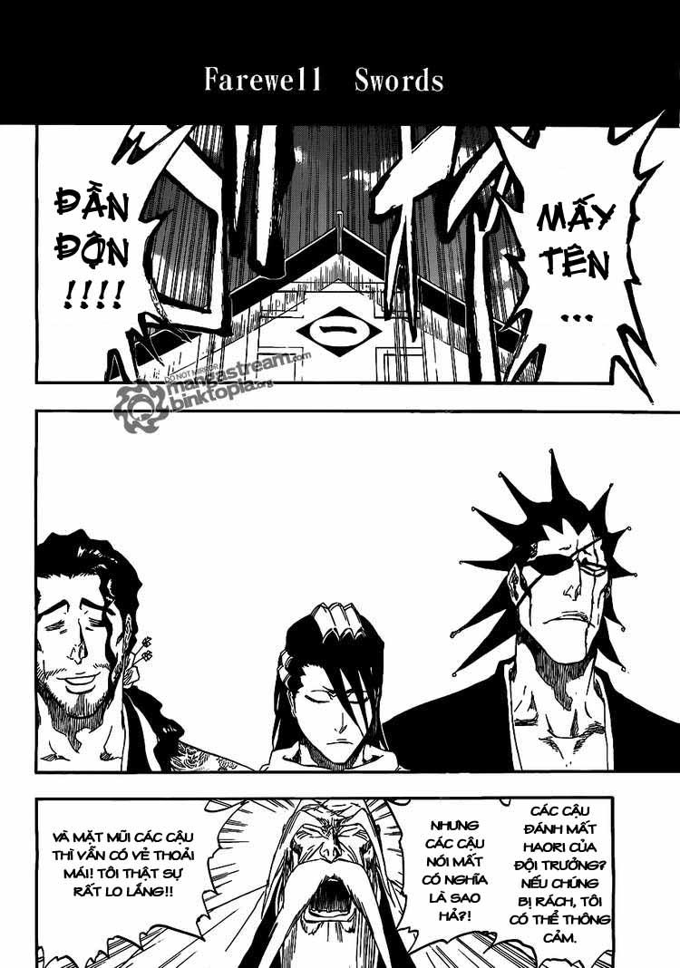 Bleach chapter 423 trang 4