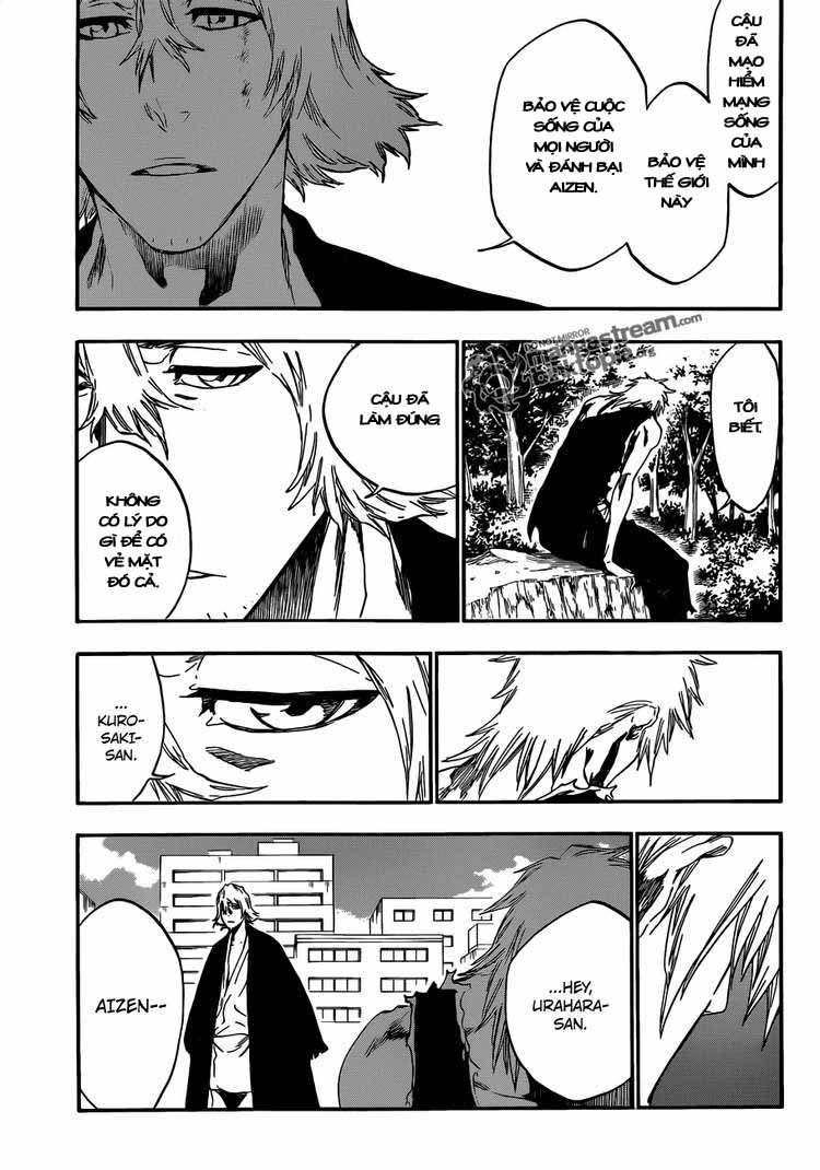 Bleach chapter 422 trang 13