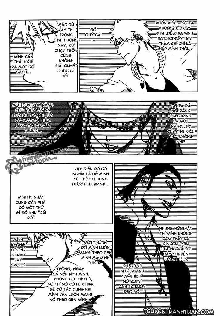 Bleach chapter 435 trang 12