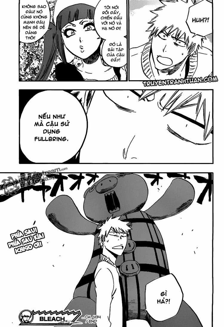 Bleach chapter 434 trang 18