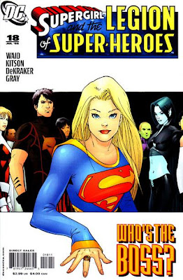 When We Were Marks: The Girls of the Legion of Super-Heroes Will Be