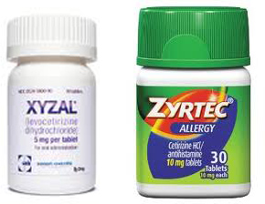 active ingredient in zyrtec allergy