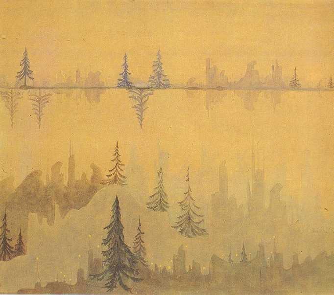 藝術散歩日記: チュルリョーニスの交響詩『海』・『森の中で』