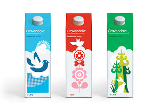 Cravendale Milk's Designer Packaging