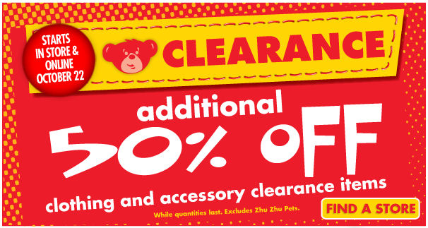 graphic about Build a Bear Coupons Printable named Establish a undertake coupon codes inside shop november 2018 - Sunrise discount coupons