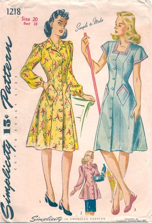 Gertie S New Blog For Better Sewing The House Dress A