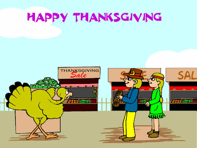 Free Funny Thanksgiving Card