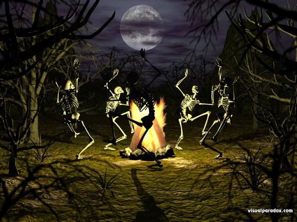 Free halloween wallpapers mmw blog dancing skeleton - Scary halloween screensavers animated ...