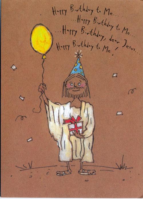 Funny Jesus Birthday Ecard Happy Cards