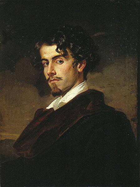 Valeriano Domínguez Bécquer, Self Portrait, Portraits of Painters, Fine arts