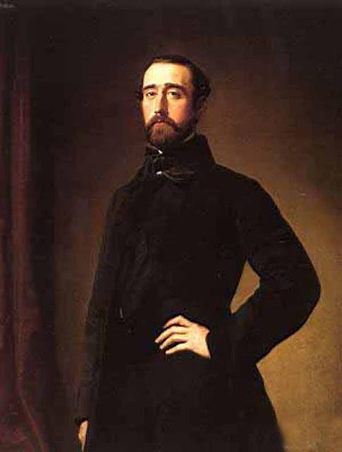 Federico de Madrazo y Kuntz, Self Portrait, Portraits of Painters,  Madrazo,  Fine arts, Federico de Madrazo, Federico de Madrazo  Kuntz