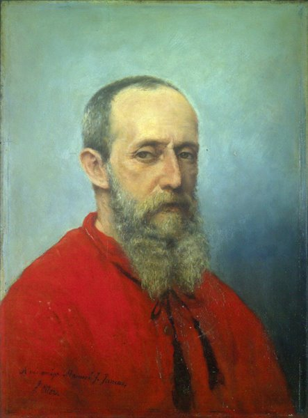 Francisco Oller y Cestero, Portraits of painters, Francisco Oller, Self-portraits, Fine art