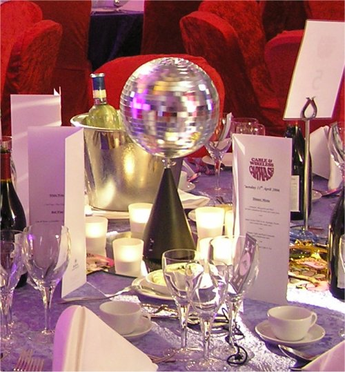 Disco Ball Table Decorations: Stressfreehire.com: Minimal Cost For Maximum Impact