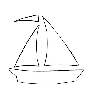 Miss Pootsie's Primitives: Free Sailboat Pattern