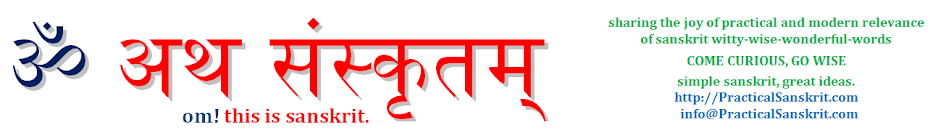 Practical Sanskrit: knowledge leads to happiness - विद्या