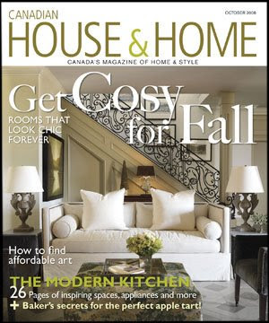 Be Sure To Check Out The October 2008 Issue Of Canadian House Home Magazine Design Editor Cameron Macneil Featured My Large Wheel Thrown Lava And Bronze
