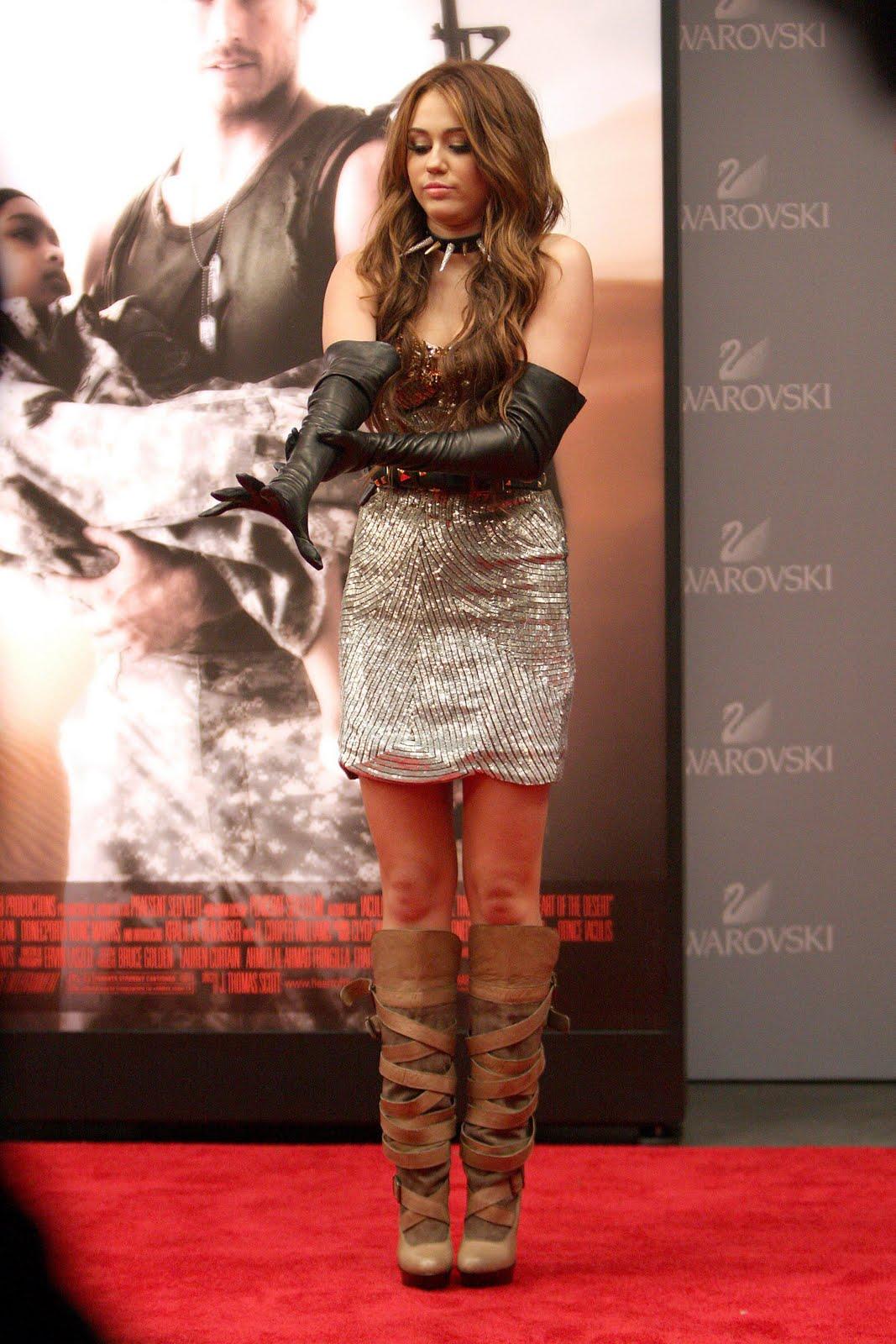 Leather Fasyen Miley Cyrus Leather 2 Uhq