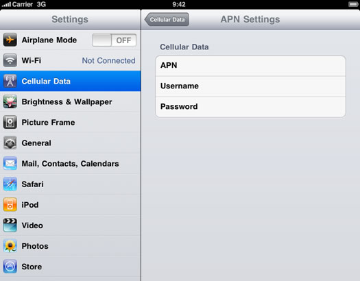 apn settings iphone iphone apn settings 6367