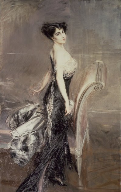Portrait Ofa Girl 14 Years In Nature Stock Image: French Sampler: Giovanni Boldini The King Of Swish