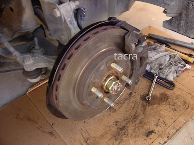 tacra's diy garage: Disc & Caliper Conversion