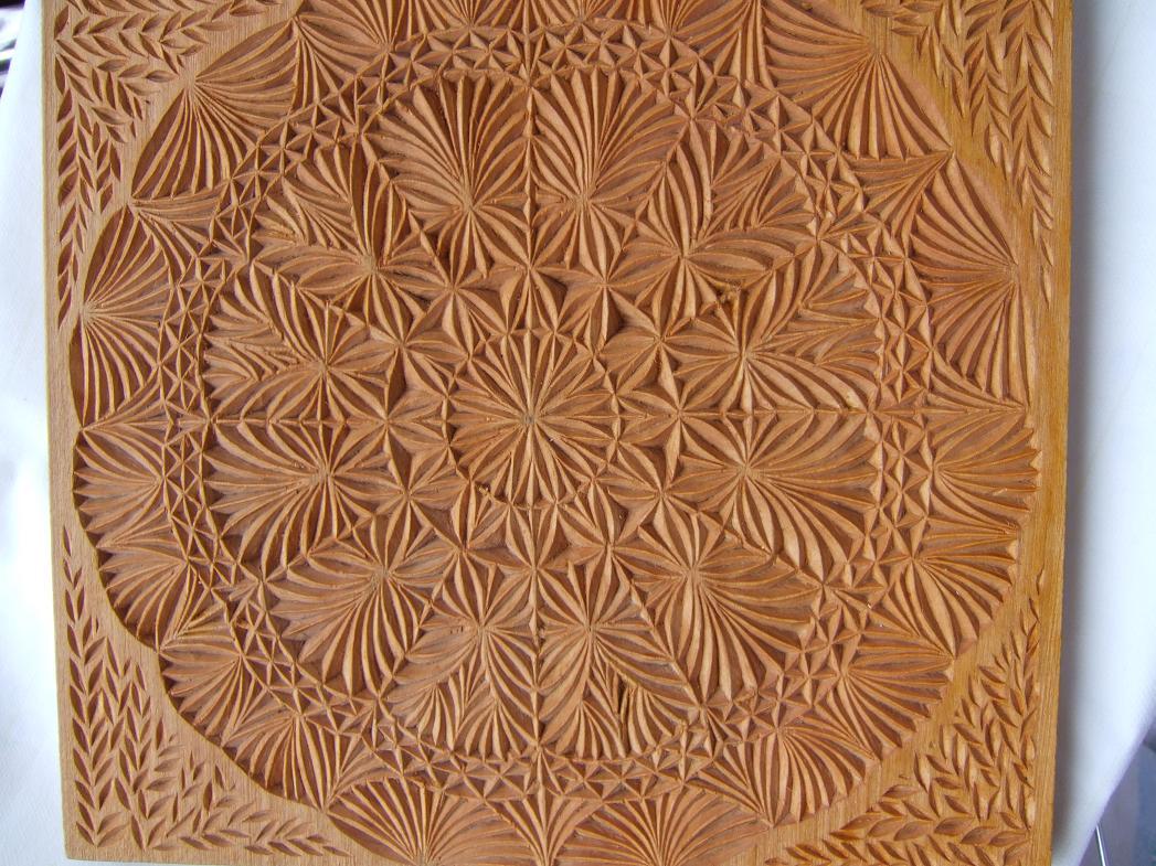 Eccezionale Chip carving: intaglio del legno a coltello di Rita Arcaleni  UZ31