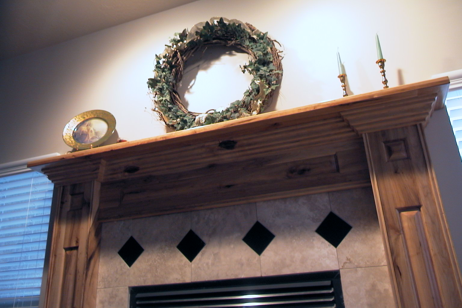 The Woodmaster Fireplace Mantle