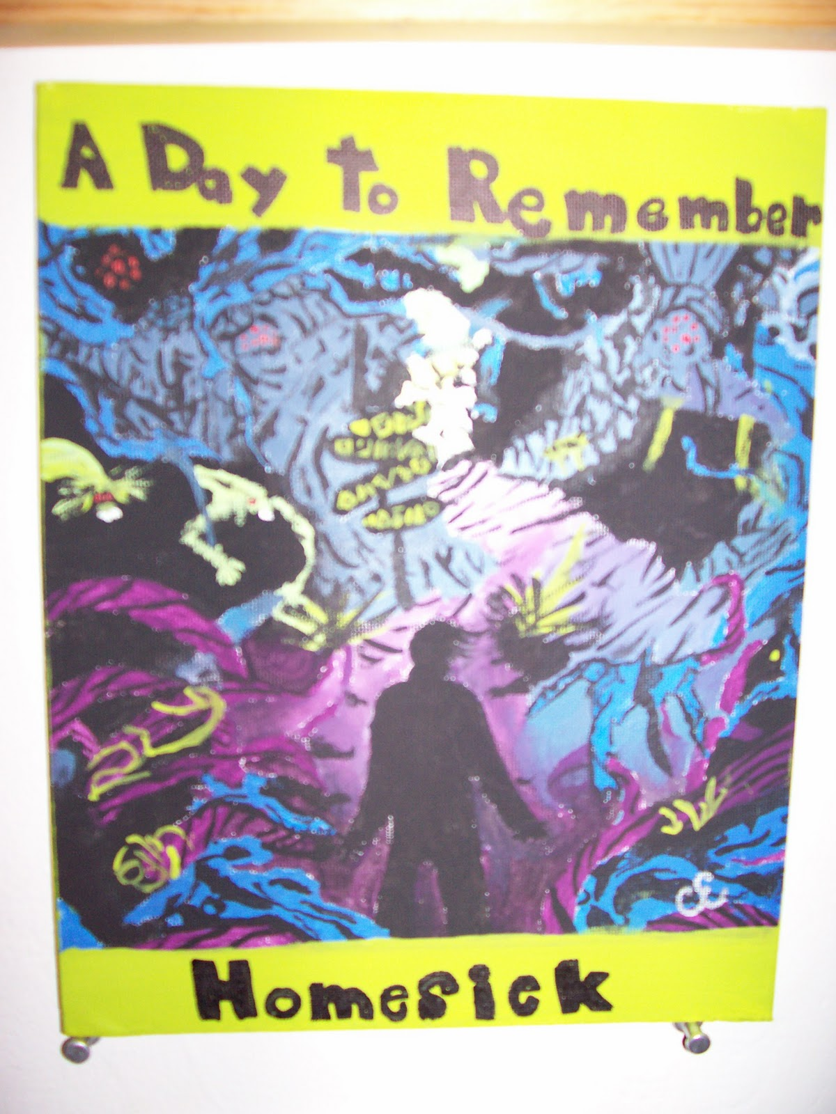 Glittergirl's Art: A Day to Remember-Homesick Album Cover A Day To Remember Homesick Album Cover