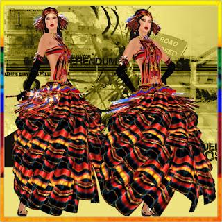 Thea Tamura Fashion: TTF - MISS VENEZUELA GOWN