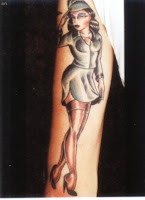Girl Tattoo Photo Gallery